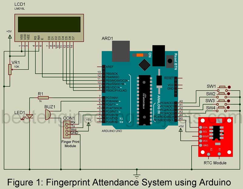 electrical battery diagram attendance monitoring system by using arduino diy project electric golf cart battery diagram #7