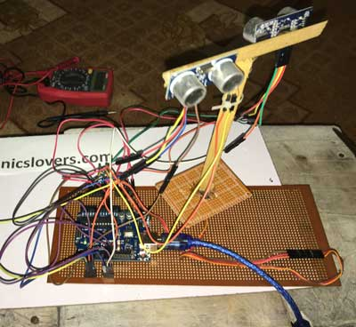 Home made model of electronic bat by using arduino uno diy project arduino ide vs processing project solutioingenieria Gallery